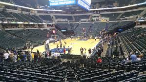 Bankers Life Fieldhouse Section 9 Indiana Pacers