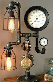steampunk lighting. 18 Gorgeous Steampunk Machine Age Lamps - Homes And Hues Lighting S