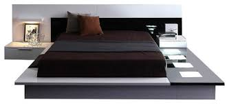 modern platform bed. Modrest Impera Ultra Modern Glossy Platform King Bed W/NS