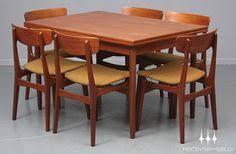 danish modern mid century dining table six by midcenturymobler 2350 00
