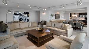 track lighting living room. Track Lighting Living Room Contemporary With Neutral Colors Modern Retreat