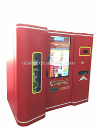 Lets Pizza Vending Machine Classy Shopping Mall Let's Pizza Vending Machine With Phone Control System