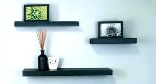 wall hanging bookshelves wooden shelves decoration corner shelf wood mounted ikea