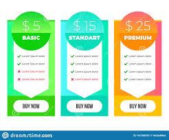 Graphic Design Courses Price Gradient Price List Graphic Design Template Modern Flat