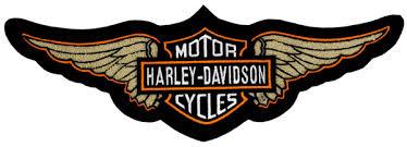 hd11005 harley davidson wing chenille 5x patch barnett harley