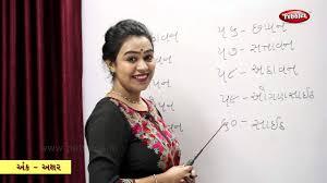 Number Names 1 To 100 In Gujarati Learn Gujarati Gujarati Grammar Gujarati Number Names