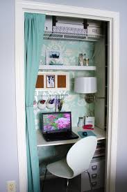 closet into office. Image Source: Remodelaholic Blog · Office 4 Closet Into M