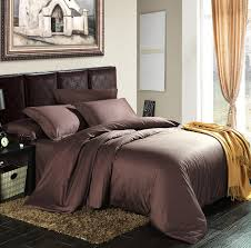 100 egyptian cotton 1200 tc europe style dark color bedding sheets super king size 4