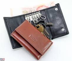 leather key pouch 704