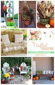 Outside Fall Decor 60 Outdoor Fall Decor Ideas Happy Go Lucky