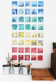diy polaroid wall art