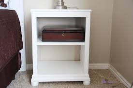 minimalist nightstand ana white katie open shelf diy projects free plans to build pottery barn kids