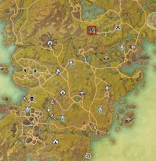 eso glenumbra skyshards guide dulfy Eso Map eso glenumbra skyshards far behind elf hater's lines eso map guide
