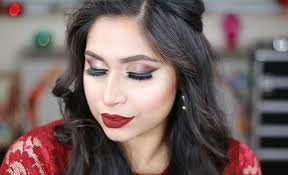 wedding makeup tutorial 2016 today i ll show you how to create this bold wedding guest party makeup tutorial this party makeup look is perfect for indian