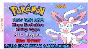 Pokemon Mega Aquamarine GBA ROM 2020[Completed] Eeveelutions, Sylveon, Mega  Evo, New Region, Story!