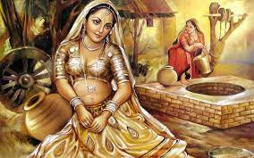 Indian Women Oil Painting Wallpapers ...
