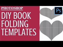 Book Folding Patterns Awesome Make Book Fold Templates In Photoshop Turn Any Image Or Text Into