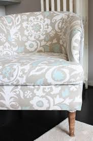 This Dusty House: How to Reupholster a Club Chair