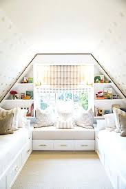 small attic bedroom sloping ceilings unique small attic bedroom design with wooden
