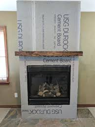 recent faux fireplace mantels with how to create a diy distressed wood beam mantel on the diy