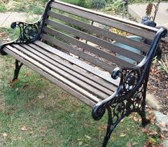 metal and wood patio furniture.  And DIY  How To Restore A Cast Iron And Wood Garden Bench Inside Metal And Patio Furniture D