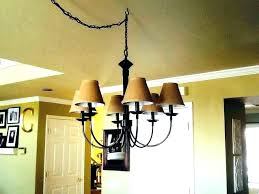 burlap drum shade chandelier lamp shades medium size of modern s