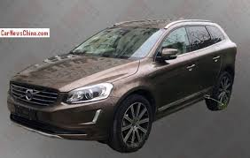 2018 volvo xc60 spy shots. spy shots: china-made volvo xc60 is almost ready for the chinese auto market 2018 xc60 shots o