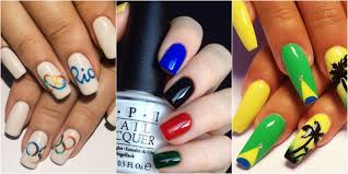 10 Olympic Nail Art Ideas That Deserve a Gold Medal - Rio 2016 ...