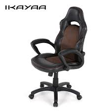 racing seat office chair uk. ikayaa us uk stock pu racing executive office chair swivel high back computer task desk seat uk