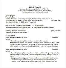 10 Resume For Current College Student Job Duties Resume Builder in Resume  For Current College Student