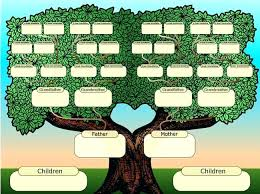 printable family tree charts create a printable family tree download them or print
