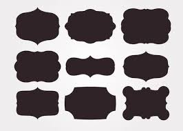 antique black frame. Vector - Vintage Black Frame Empty Set. Retro Premium Quality Labels Set  And Antique Frames Design Elements. Illustration