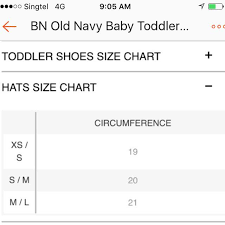 Old Navy 2t Size Chart Bn Old Navy Baby Toddler Boy Girl Sun Hats Various Designs 6