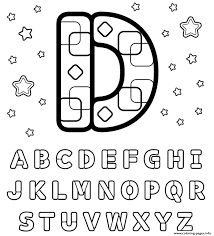 Small Picture letter d printable alphabet se619 Coloring pages Printable