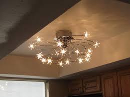 image of unique kitchen ceiling light fixture