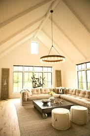 slanted ceiling lighting ideas best vaulted on high wood plank walls planked wonderful neutral room love