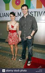 Sandy und Lucas Lima 7. jährlichen Cine Fest Petrobras Brasil NY auf dem  Tribeca Kinos 54 statt. New York City, USA - 04.08.09 Stockfotografie -  Alamy