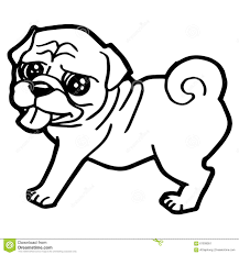 easy cute pug coloring pages free seahorse page ocean