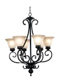 oil rubbed bronze chandeliers 6 light chandelier w inverted bell amber glass shades bronze tone finish