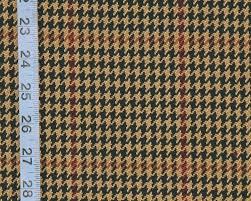 brown black houndstooth plaid fabric rt pemb d2909 java