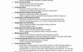 Good Skills To Put On A Resume Examples Of Skills to Put On Resume Elegant top Skills to Put A 15