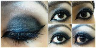 after lining eyes should look like this this kind of lining gives a lot of definition to your eyes which is needed in emo makeup