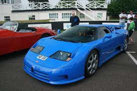 What is interesting is that it's boosted from the factory 611 hp to 632 hp. Bugatti Eb 110 Wikipedia