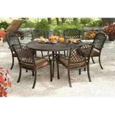 hampton bay walnut creek durawood patio dining table. $217 hampton bay walnut creek patio dining chair with red cushion (2-pack)-frs10013-red at the home depot | - outdoor pinterest home, durawood table n