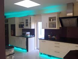 kitchen strip lighting. how to install led strip lights on plinths and kickboards kitchen lighting i