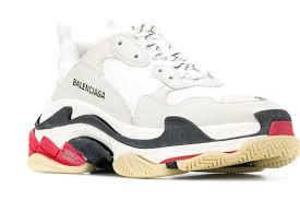 Balenciaga Sneakers Women S Size Chart Balenciaga Triple S Sneakers Women