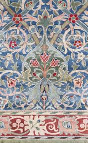 William Morris Textile Designs A William Morris Hammersmith Carpet Hand Knotted For