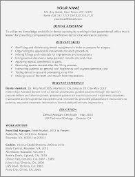 Cover Letters For Dental Assistant Sample Cover Letter For Dentist Job Unique Dental Assistant Resume