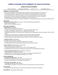 How To Make Good Resume For Job Elegant Summary A Resume Examples