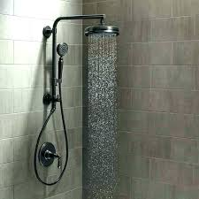 moen twist handheld shower with slide bar in oil rubbed bronze brushed nickel systems multi head